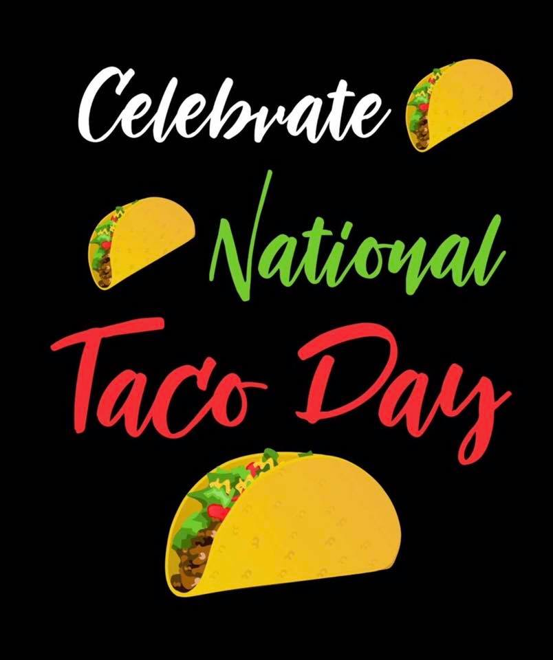 National Crunchy Taco Day Wishes Awesome Picture