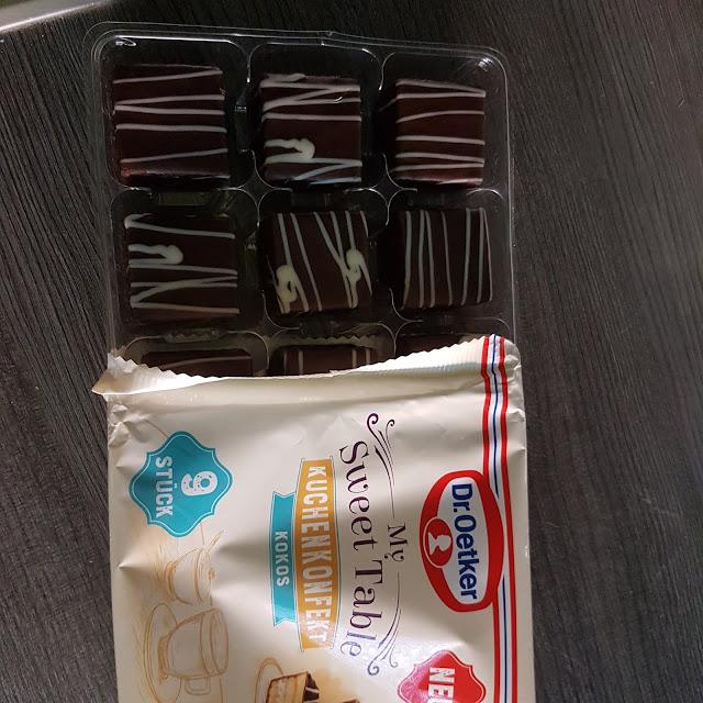 Dr. Oetker My Sweet Table Kuchenkonfekt Kokos