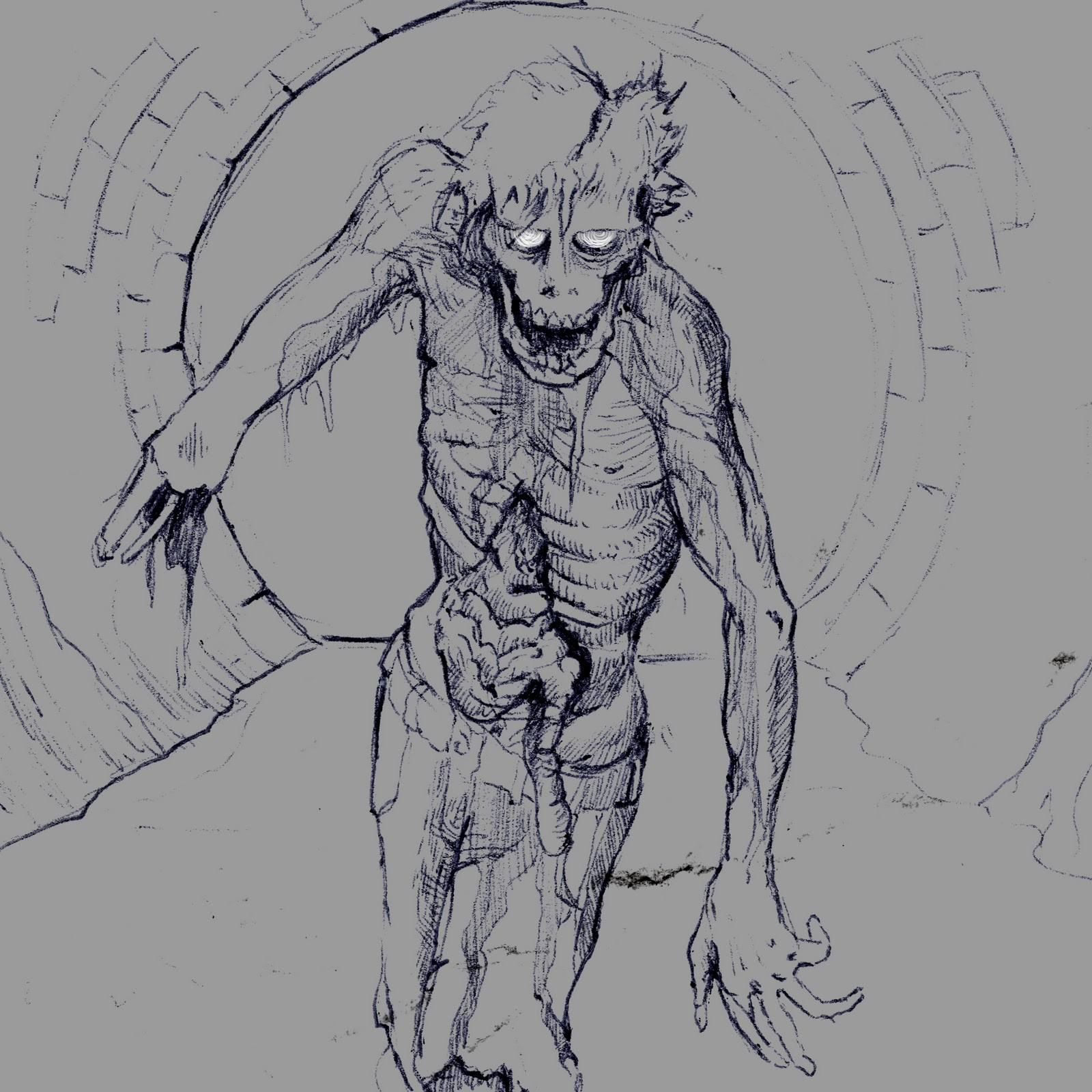 Wasted Talents: Zombie doodle