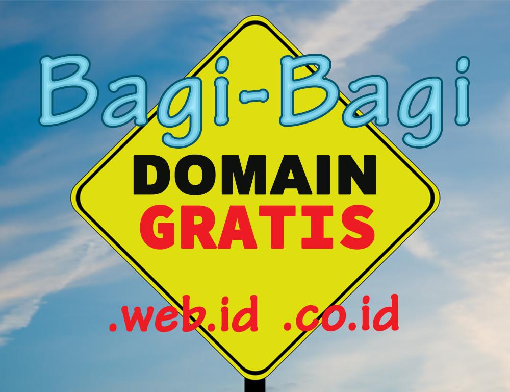 cara mendapatkan domain gratis di