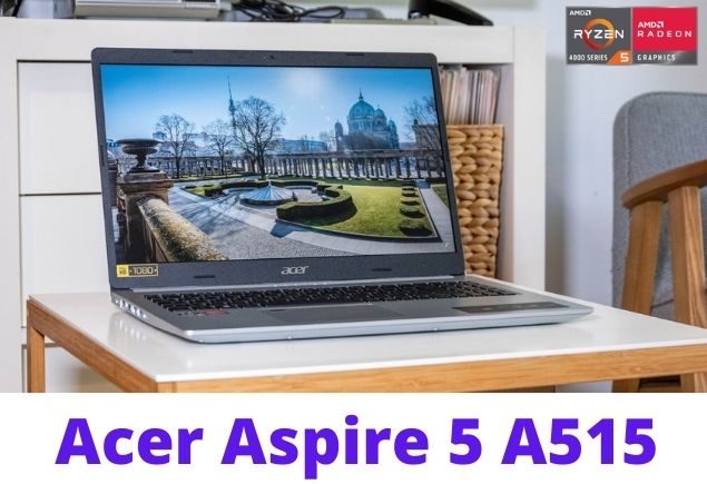 Good all-rounder: Acer Aspire 5 with Ryzen ™ 5 4500U within the test