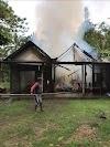 Rumah Mulyadi Hangus Terbakar Habis