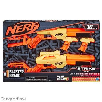 Bộ súng Nerf Alpha Strike Lynx SD-1 & Stinger SD-1 Multi-Pack