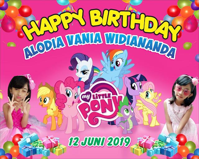 happy birthday little pony