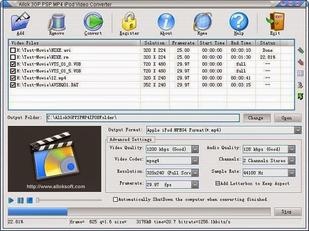 Allok Video Converter Free With Serial Key