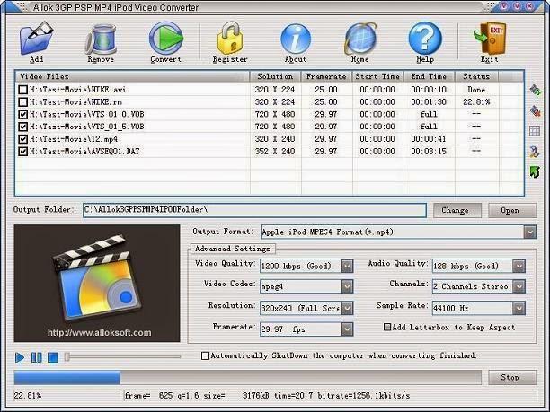 allok 3gp converter gratuit