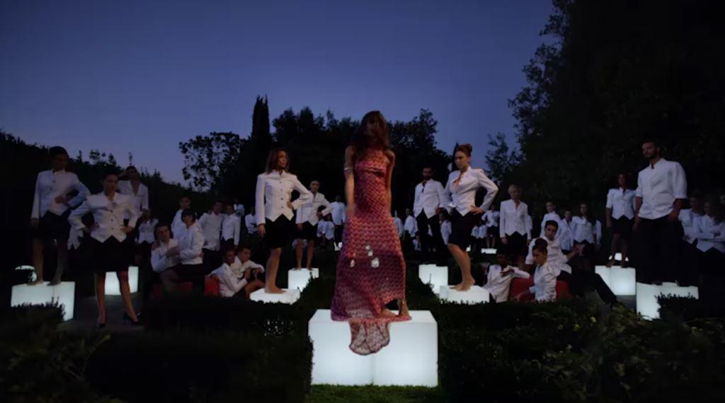 Elisa Sednaoui modella Pubblicità di Missoni, spot profumo femminile - Foto e info testimonial