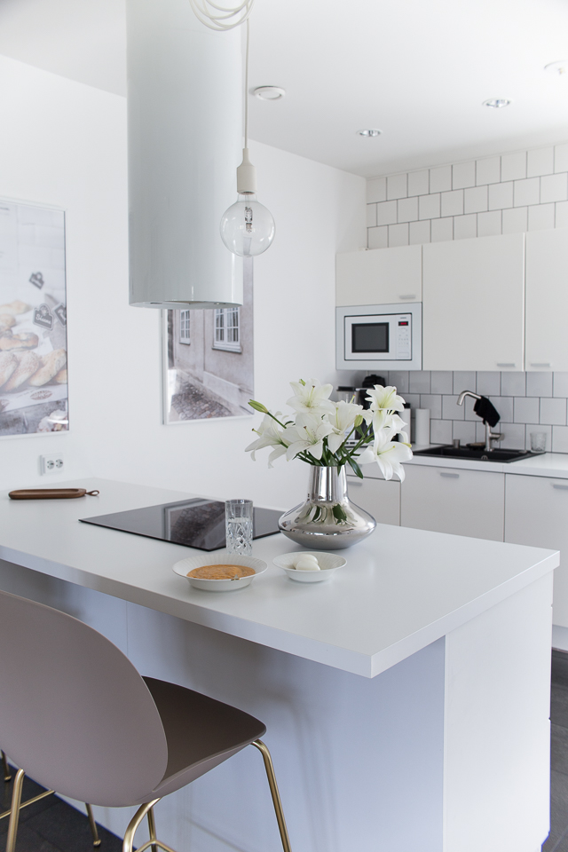 Keittiö, Villa H, Gubi beetle baarituolit, baarituoli, puustelli keittiö