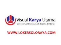 Loker Solo Drafter Estimator Lulusan S1 di CV Visual Karya Utama