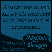 Neptunia Designs CU License