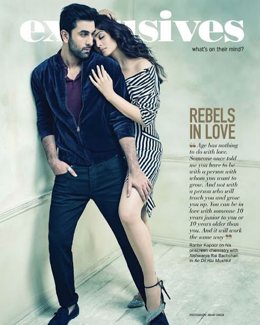 Ranbir kapoor, Aishwarya rai hot photoshoot