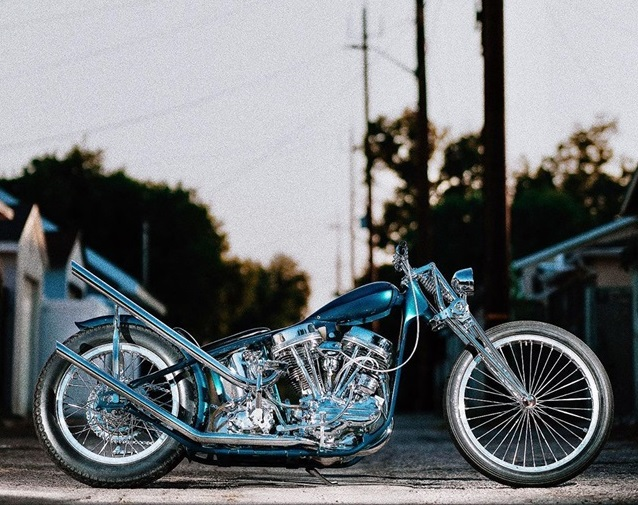 Harley Davidson Panhead 1963 By Ben The Boog Hell Kustom