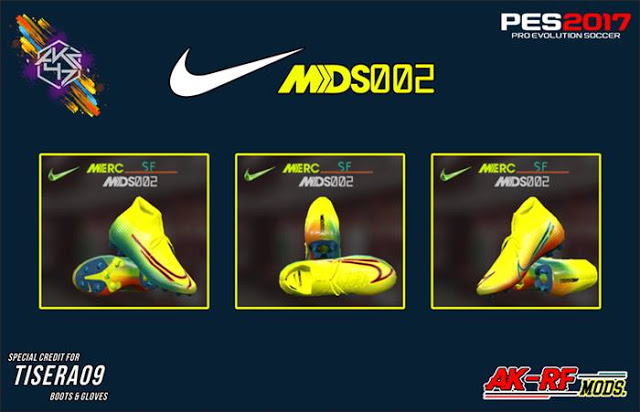 PES 2017 Nike Mercurial Dream Speed 2 Boots By AK-RF Mods