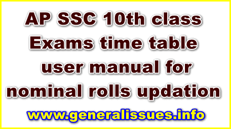 AP-SSC-Time-Table