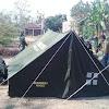 Siswa SMK Muhammadiyah 1 Trenggalek Berlatih Mendirikan Tenda, Persiapan JAMDA 2019