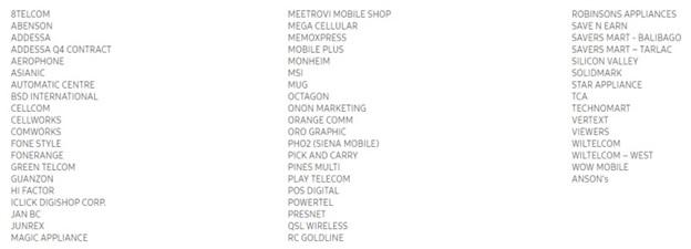 Samsung Christmas Giveaways dealers