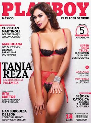 Revista PlayBoy México (Tania Reza) - Enero 2016