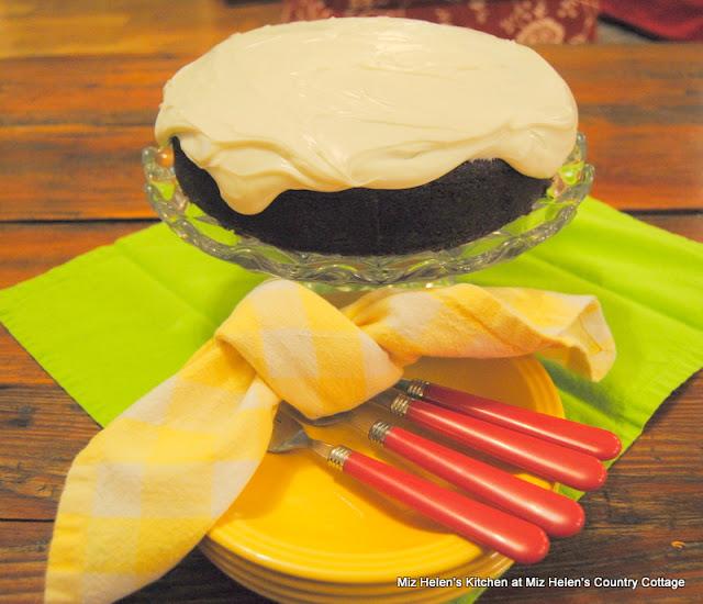 Guinness Irish Chocolate Cake at Miz Helen's Country Cottage