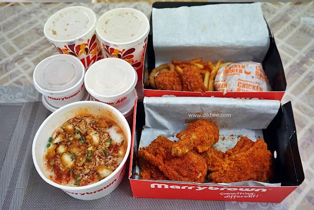 Fuh! Mala-Tup Dengan Ayam Goreng Mala Marrybrown
