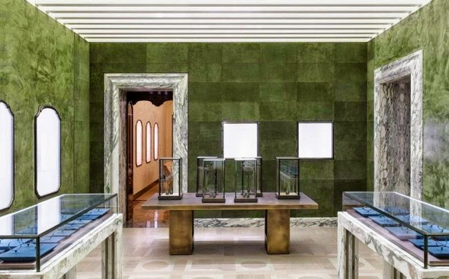 0b2552d1141 THE SHOP LOCATOR: Bulgari Flagship Store by Peter Marino Architects ...