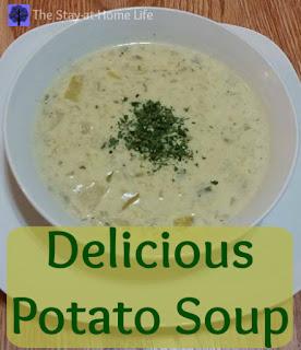 soup, potato, potato soup, cream of potato soup, slow cooker, slow cooker potato soup, crockpot, crockpot potato soup
