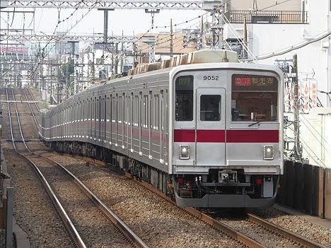 東急東横線 副都心線直通 急行 和光市行き5 東武9000系