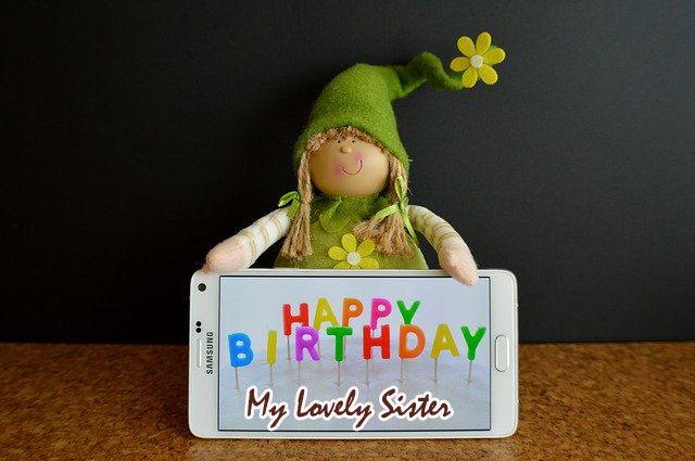 happy birthday sister images funny