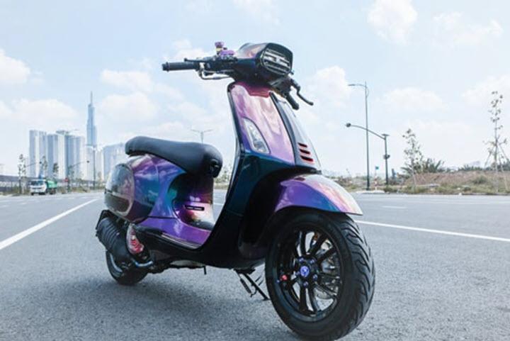 Ngắm những chiếc Vespa Sprint độ đẹp mê hồn của dân chơi Việt