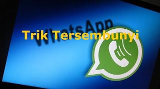 Trik Tersembunyi Whatsapp yang Bisa Anda Gunakan