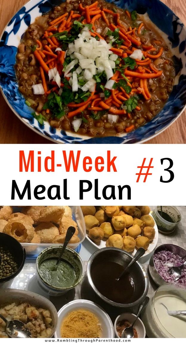 This is what Mid-Week Meal Plan #3 looks like. I may not stick to it fastidiously, but it will help me plan my grocery shop. And it will most certainly help with the ultimate aim of cooking more, wasting less and saving money in the process.