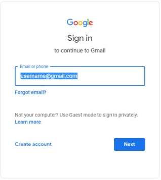 email login kaise kare