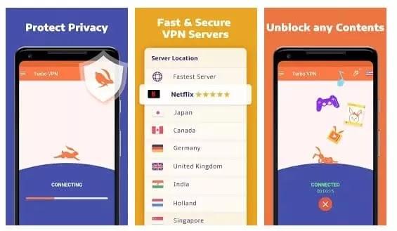 أفضل وأسرع تطبيقات VPN المجانية للأندرويد