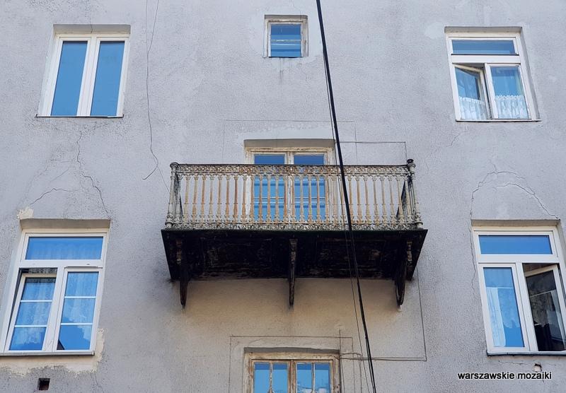Warszawa Warsaw kamienica dom Praga Północ praskie kamienice praskie klimaty architektura architecture przedwojenna z klimatem balkon