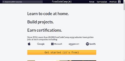 موقع فري كود كامب Free Code Camp