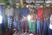 Muhammad Nasir Gelar Reses Masa Sidang III Di Desa Minahasa Upa