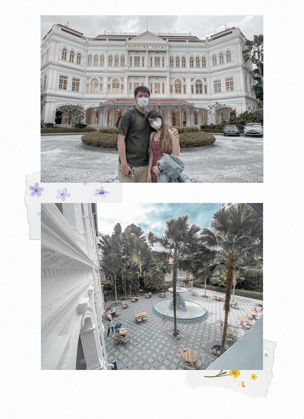 raffles hotel staycation