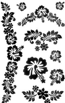 Tattoos Hawaiian flowers - flower tattoo design Hawaiian ...