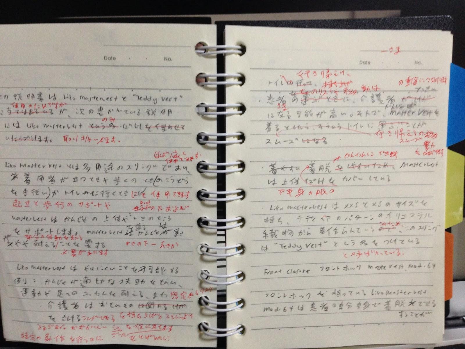 notes translating class handwriting