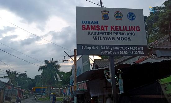Jadwal Layanan SIM Keliling Pemalang di Alun-Alun Moga