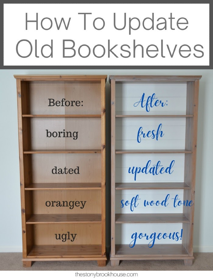 How To Update Old Bookshelves