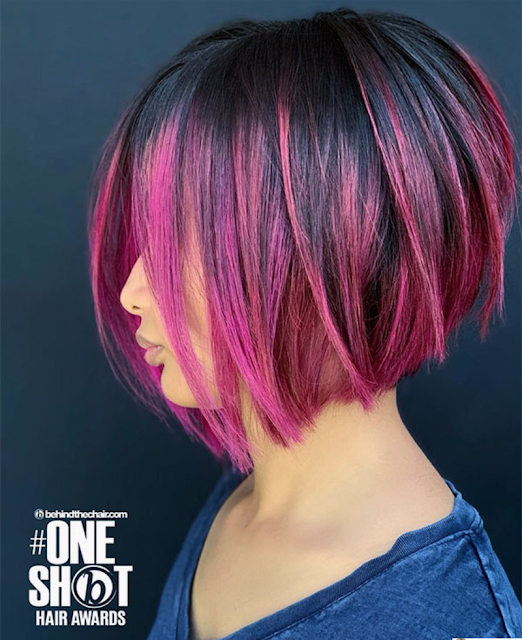 is purple a good color for hair?