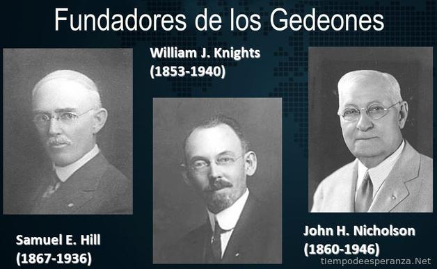 Fundadores de Los Gedeones