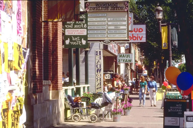 The Whyte Avenue may be known for its lovely historical buildings