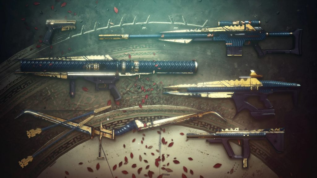 Some of the new weapons from Season 13 that can also be found in Umbral engrams
