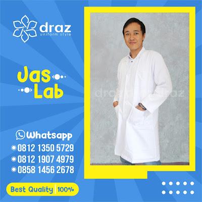 0812 1350 5729 Harga Grosir Jas Laboratorium Lengan Panjang