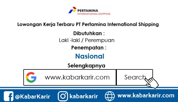 Loker PT Pertamina International Shipping
