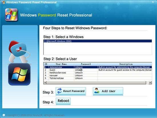 How to Hack Windows 2000 Administrator Password