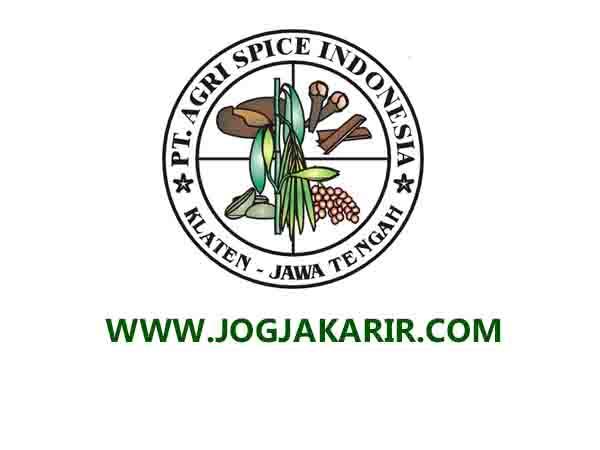 Lowongan Kerja Klaten Akunting Di Pt Agri Spice Indonesia Portal Info Lowongan Kerja Jogja Yogyakarta 2021