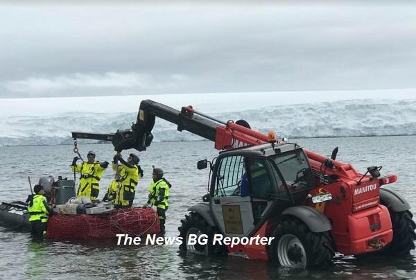 """Експедицията на антарктиците ни - 2021, достигна полярната станция """"Св. Климент Охридски"""""""