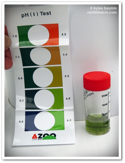 A Handy Little Ph Chart Is Included So You Can Visually Compare Your Water To It And Determine What Its Ours 6 5 7 0 Perfect